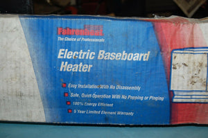 Fahrenheat 60 in. 1,250-Watt Baseboard Heater