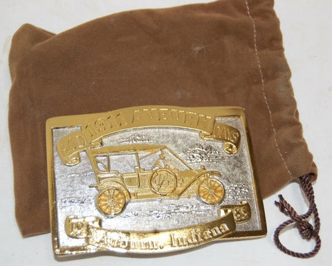 1911 Auburn Indiana ACD Days 1985 1st edition Belt Buckle #44 of 600