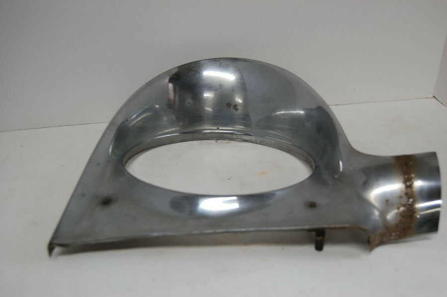 1956 PLYMOUTH BELVEDERE  HEADLIGHT BEZEL TRIM LEFT SIDE