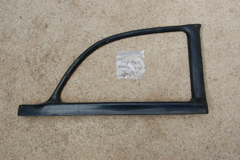 56 PLYMOUTH BELVEDERE (2-DOOR) LEFT REAR BACK WINDOW GARNISH MOLDING FRAME 1956