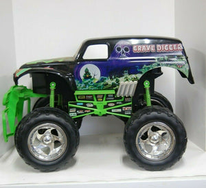 Grave Digger R/C Monster Truck Tyco 1:6 SFX Motorsports 2003 27mghz  Not Tested