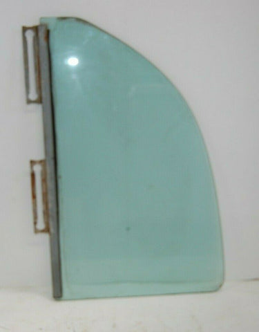 1956 PLYMOUTH BELVEDERE RIGHT REAR WINDOW GLASS MOPAR OEM 56