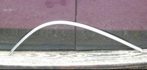 1956 Plymouth Belvedere LEFT SIDE BOTTOM REAR WINDOW TRIM OEM MOLDING MOPAR 56