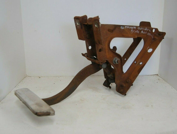 1956 PLYMOUTH BELVEDERE BRAKE PEDAL & ASSEMBLY MOPAR 56 OEM