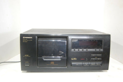 PIONEER # PD-F605  CD PLAYER FILE TYPE 25 FILED CDS VINTAGE WORKS