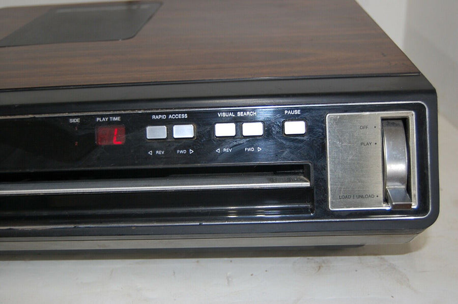 Vintage RCA Selectavision Model SFT 100W VideoDisc Player