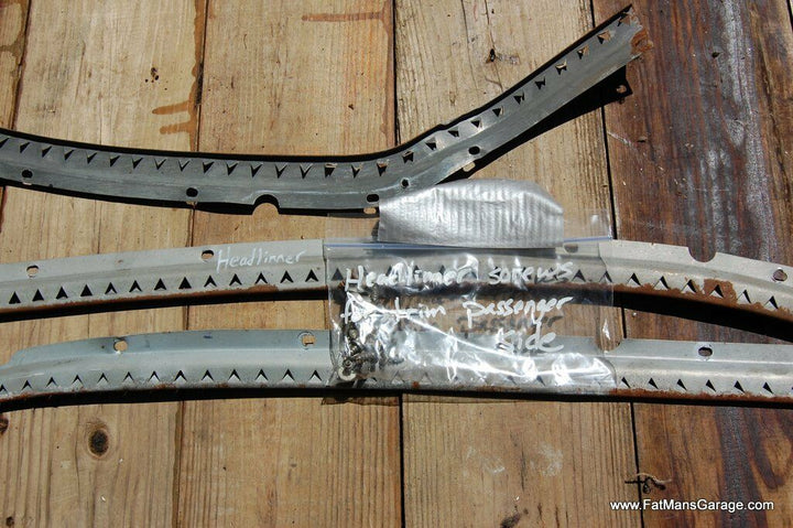 1949 Buick Super Headliner Support Securing Trim Passenger Right Side