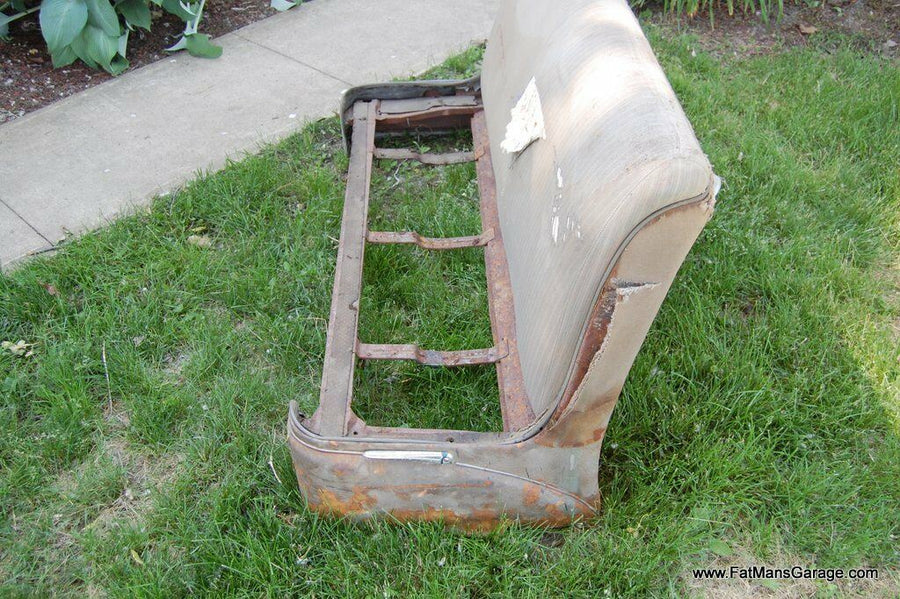 1949 49 Buick Super Roadmaster Front Bench Seat Hot Rod Rat Rod Spring Frame