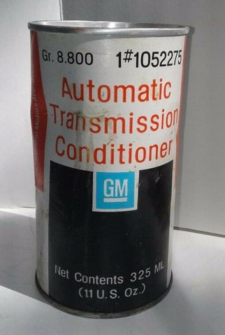 GM Automatic Transmission Conditioner 11 oz Sealed Vintage Full Can Classic