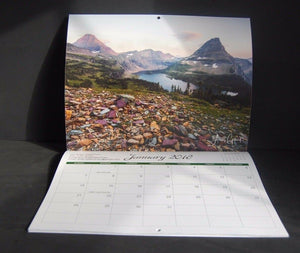 2018 Scenic Hanging Wall Calendar From Gilbert Photography Sunsets Waterfalls
