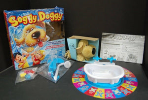 Soggy Doggy Showering, Shaking, Wet Doggy board game