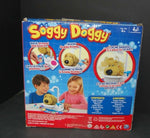 Soggy Doggy Board Game Interactive Showering Shaking Dog Bath Toy New Open Box
