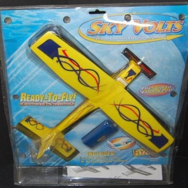 2001 Sky Volts hand launch electric airplane by Hobbico