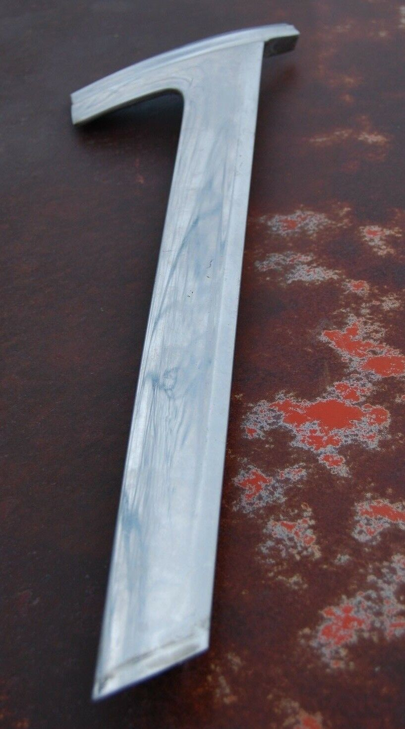 1964 Mercury Maurauder 4 DR Fastback Chrome Driver Side LH Window Molding Trim