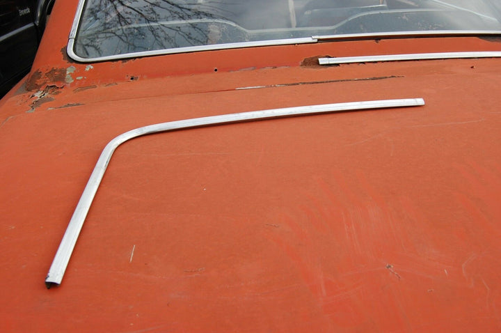 1964 Ford Galaxie 500 500 XL top left Back Window Moulding #C3AZ-6342431-A