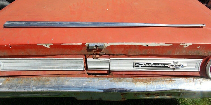 1964 64 Ford Galaxie 500 xl 2 Door Trim chrome moldings 1 piece