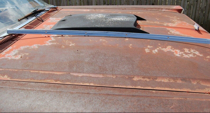 1964 FORD GALAXIE CONVERTIBLE FRONT WINDOW TOP TRIM 500 XL