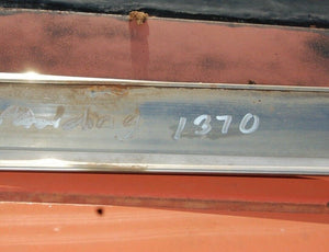 1964 64 Ford Galaxie 500 Left Hand Side Driver Lower Rocker Chrome Molding Trim