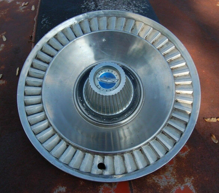 "1964 64 Ford Galaxie Hubcap Rim Wheel Cover Hub Cap 14"" OEM  Driving Condition"