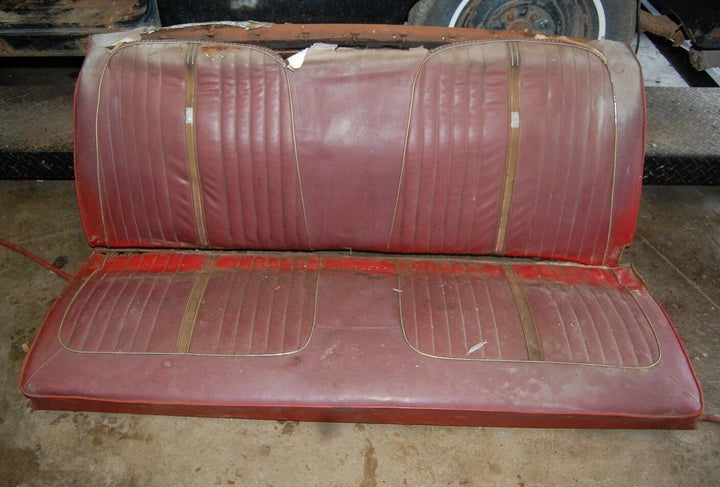 1964 64 Ford Galaxie 500 OEM Fast Back Red Rear Back Interior Seat Springs OEM