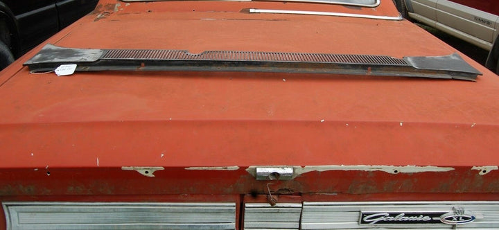 1964 Ford Galaxie 500 2 Door Hardtop Black Windshield Cowl Vent Cover Panel