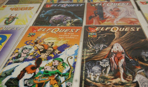 Elf Quest Hidden Years Kahvi Comic Series 1- 24 Bagged & Boarded MNM Toys