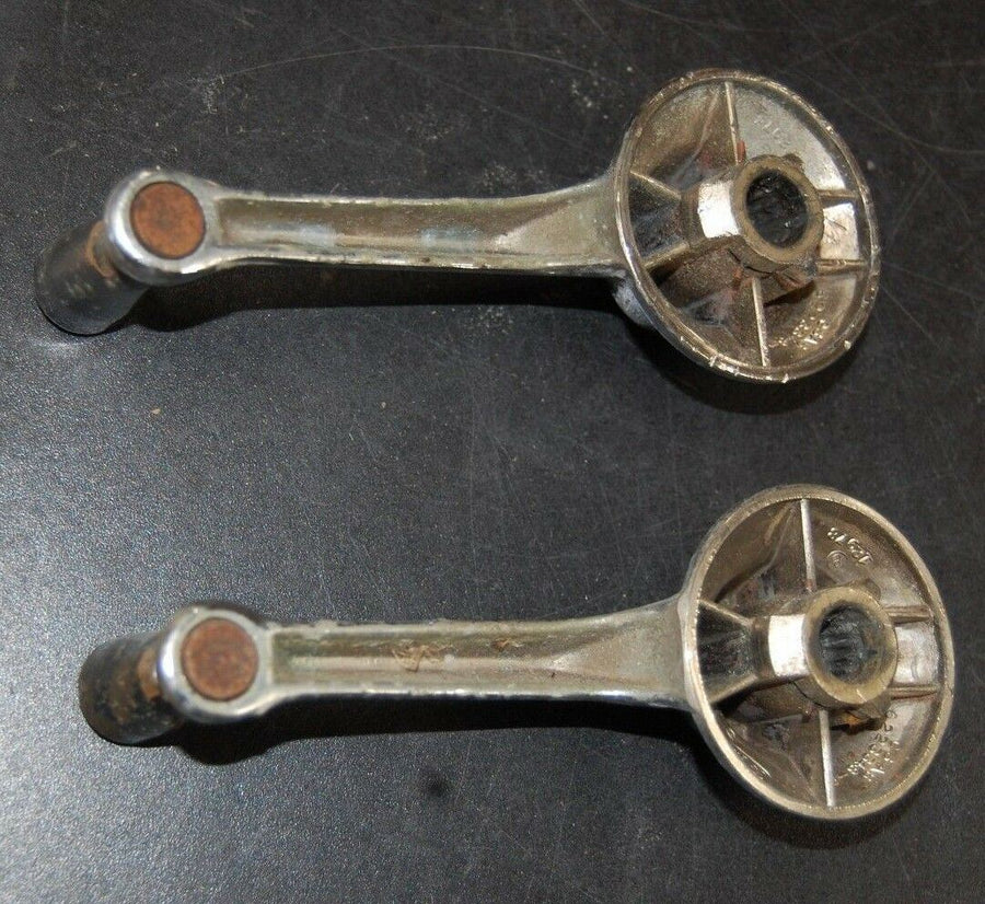 1964 Ford Galaxie Window Crank Handle Set W/Springs FoMoCo C3AB-6223348-B OEM