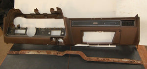 1972 Ford Gran Torino Sport CJ Dashboard Assembly Brown Dash & Bracket