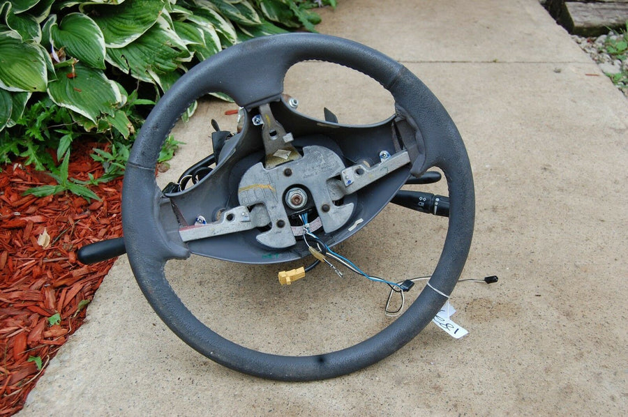 98 1998 DODGE CARAVAN COMPLETE ASSEMBLY STEERING COLUMN W/ WHEEL & KEY CHRYSLER