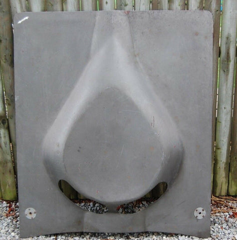 1963-1967 Corvette Big Block Hood TEAR DROP NOSTALGIC SHAPE FIBERGLASS 64 65 66