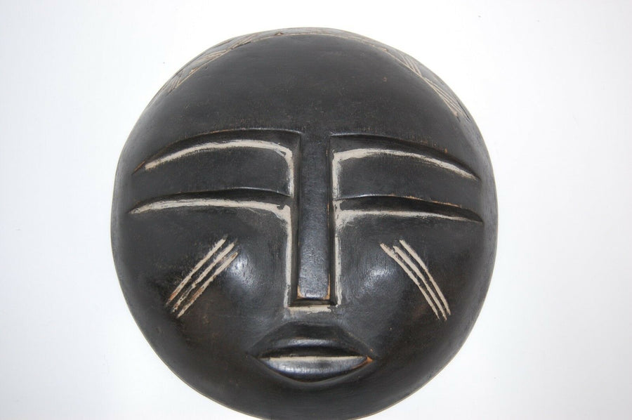 HANDMADE AFRICAN MASK CRAFTED IN GHANA Decor Vintage TRIBAL Masks