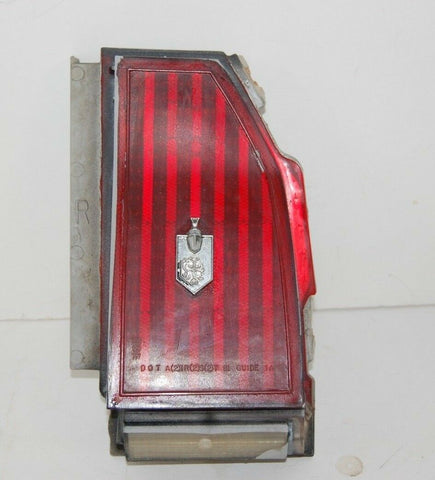 OEM 1985 Monte Carlo Right Rear Tail Light Assembly Excellent 1983 1984 83 84 85
