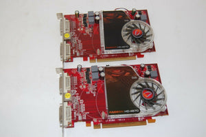 2 Dell ATI Radeon HD 4670 PCIe x16 Graphics Video Card 1GB  2x DVI -TV-OUT