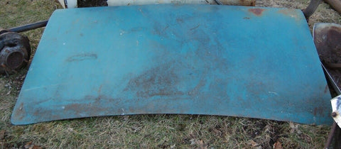1967 67 CHEVROLET IMPALA REAR TRUNK LID DECK NOT FASTBACK