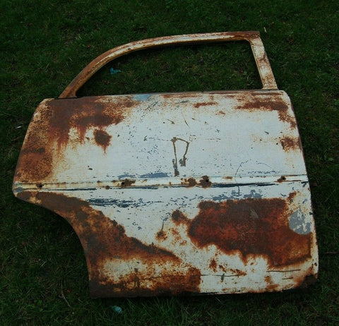 1956 PLYMOUTH SAVOY BELVEDERE OEM RIGHT BACK DOOR OUTER SHELL