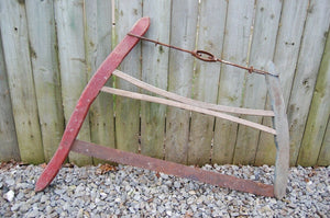 Collectible Vintage Buck Bow Saw with Wooden Handles