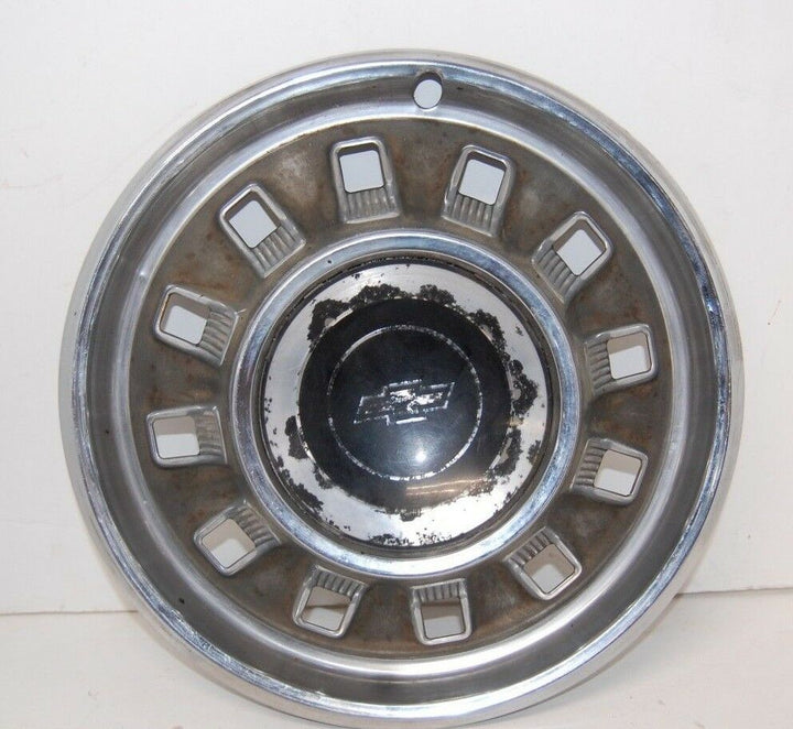 "1967 Chevrolet Impala 14"" hubcap wheel cover vintage Bel air caprice"