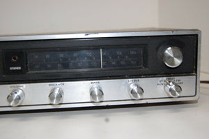 Montgomery Ward Airline AM/FM Stereo 8 Track Player 5958 POWERS ON PARTS/ REPAIR