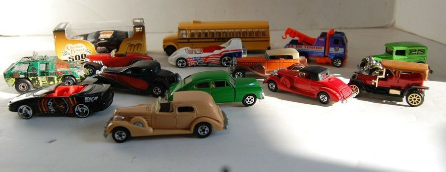 Lot Of 14 Hot Wheels Matchbox Cars Various Years 1975 -95