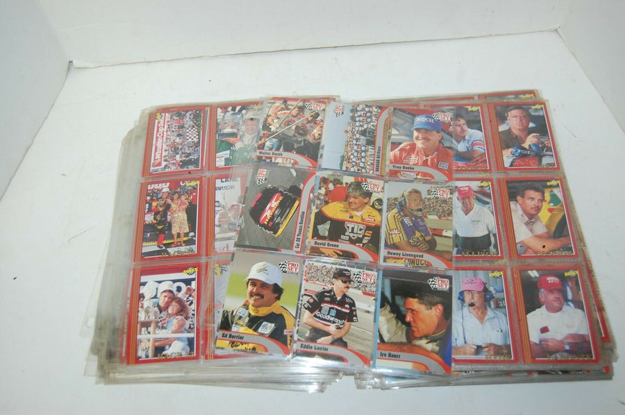 895 NASCAR Racing cards Dale Earnhardt Jr Jeff Gordon 1992 Pro Set Tracks Maxx