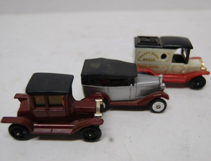Lot of 3 used vintage Tomica Brand Pocked Cars
