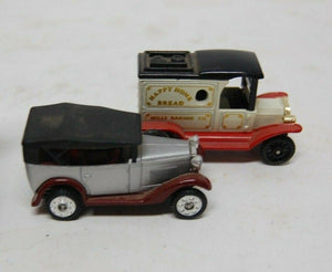 3 Vintage Collectible Tomica Die Cast Pocket Cars