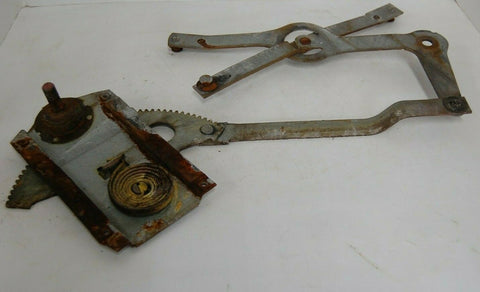 1956 2-DOOR PLYMOUTH BELVEDERE Drivers side front Manual Window Regulator OEM