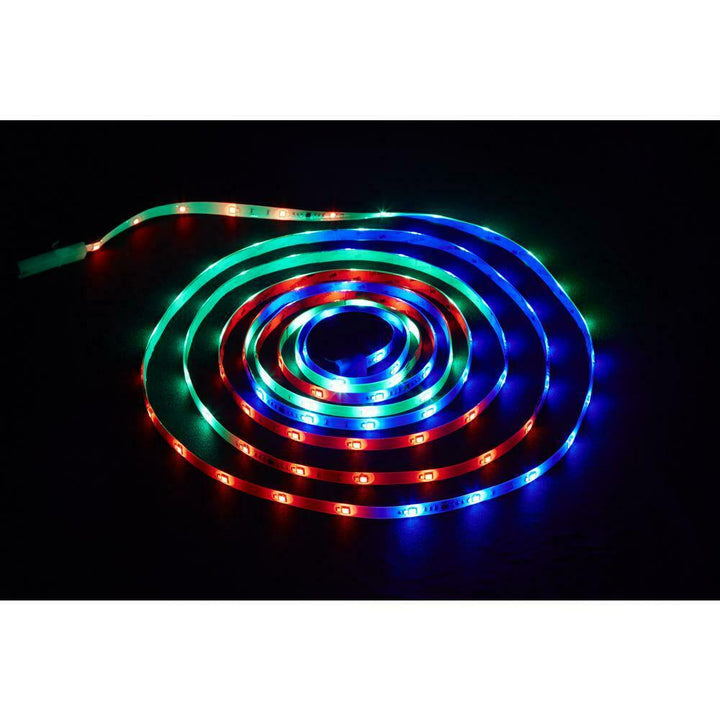 18 ft. LED Indoor/Outdoor Connectable Color Changing Tape w/ remote 16 color