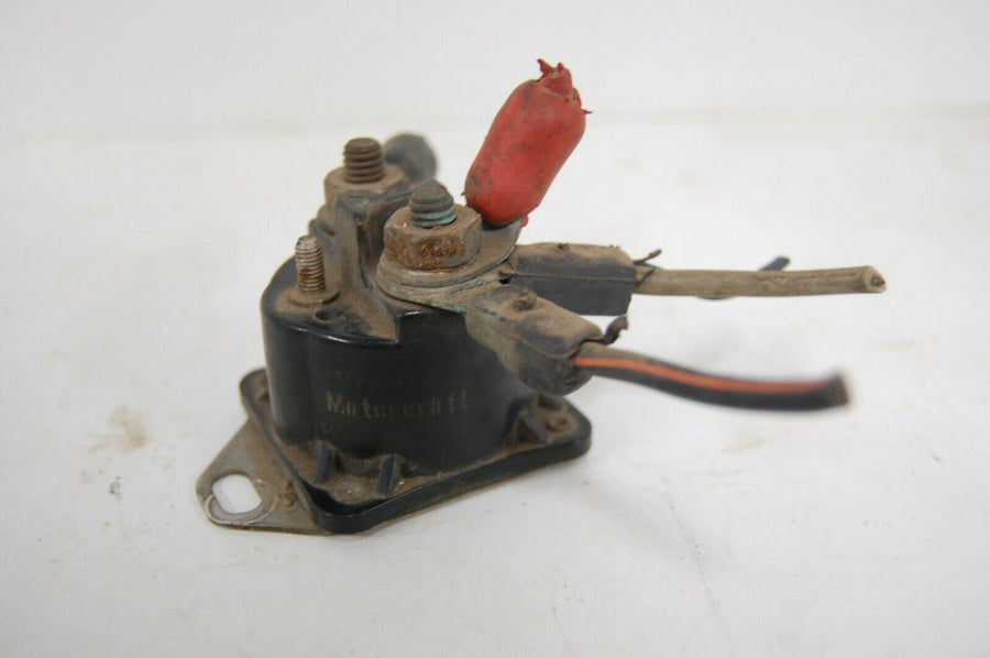 ⭐️ OEM GENUINE MOTORCRAFT STARTER SOLENOID SWITCH RELAY ASSEMBLY E9TF1145AA