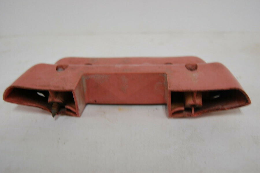 Original 1956 56 Plymouth Belvedere LH Door Arm Rest Red and Black OEM Driver