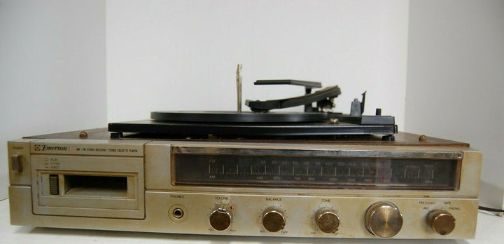 Vintage Emerson Model M2404 Stereo,Tape, Radio & Record Player