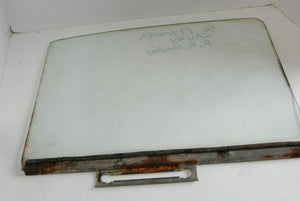 1956 PLYMOUTH SAVOY RIGHT REAR  DOOR WINDOW GLASS MOPAR