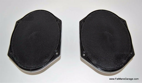 Ford Pair Speakers 25 Watt 4 Ohm OEM New XW7F-18808-AB 7U5T-18808-BA Set of 2