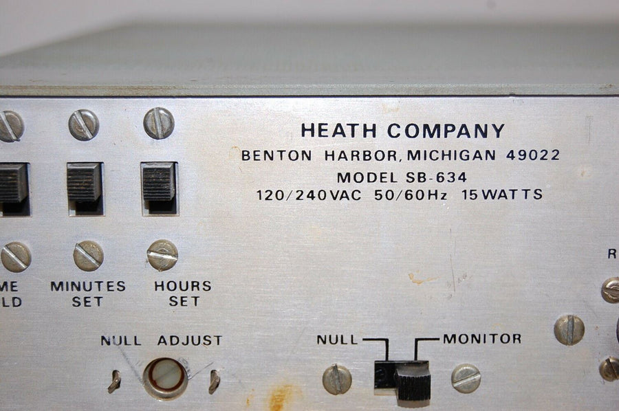 Heathkit SB-634 Station Monitor w/ Video *vintage ham radio equipment*